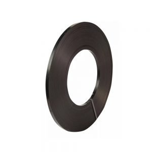 Safeguard Black 19mm Ribbon Wound Strap, 395mtr