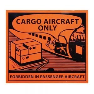 Transpal CARGO AIRCRAFT ONLY Labels