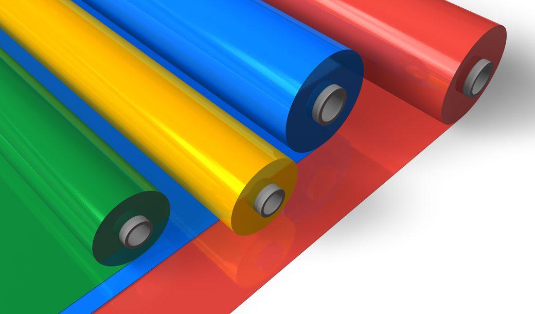 Coloured Pallet Wrap Options
