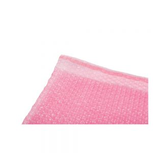 Bubble Pouches, 180 x 235mm, pink antistatic