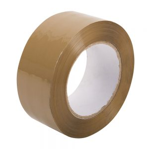 Pacplus 48mm x 132mtr Low Noise Buff Tape
