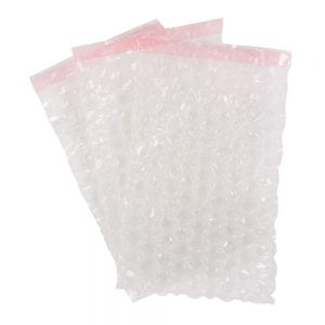 Transpal 100 x 135mm Bubble Film Pouches