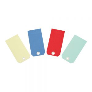 Transpal Blue Wired Tags