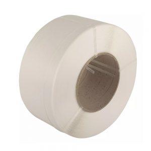 Safeguard White 12 x 0.8mm PP Strap, 300kg break strain