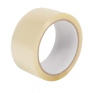 Pacplus 48mm Buff Economy PP Acrylic Tape