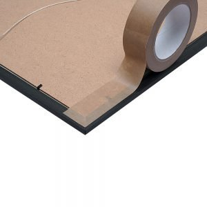 Pacplus 25mm Kraft Tape 100% recyclable with hotmelt adhesive
