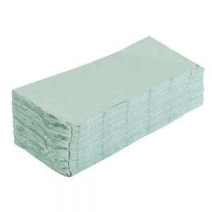 Green Single Ply Hand Towels