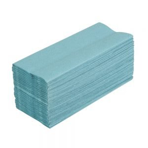 Blue Single Ply Hand Towels