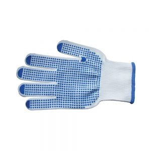 Transpal Gripper Dot Gloves, Large