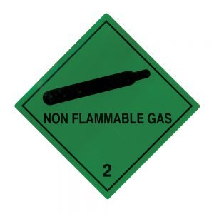 Transpal NON FLAMMABLE GAS Labels