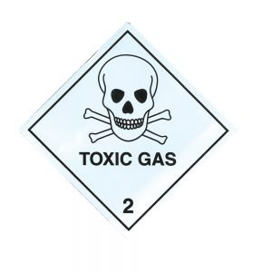 Transpal TOXIC GAS Labels
