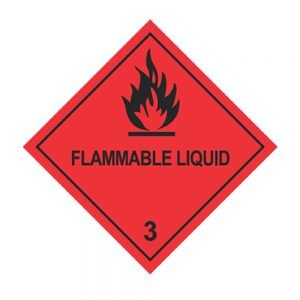 Transpal FLAMMABLE LIQUID Labels