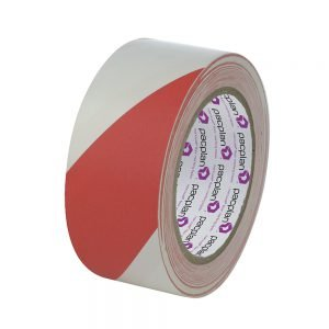 Marcwell Red/White Hazard Tape