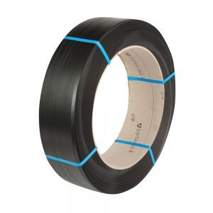 Safeguard Black 11.1 x 0.63mm Hylastic PET Strap