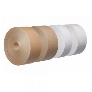 Xtegra Water Activated Tape, 70mm x 200mtr, 90gsm brown, GSI