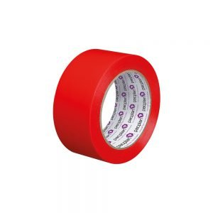 Marcwell Red 50mm Lane Marking Tape
