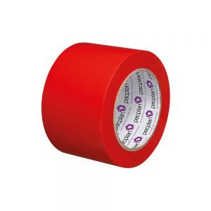 Marcwell Red 75mm Lane Marking Tape