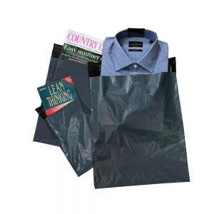 Tenzapac Grey Mailing Bags, 350 x 475mm