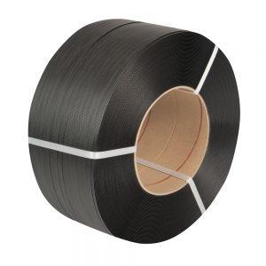 Safeguard Black 12 x 0.63mm High Elasticity PP Strap