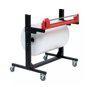 Pacplan Single 1200mm Mobile Roll Cutter Dispenser