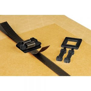 Safeguard Black Plastic Buckles