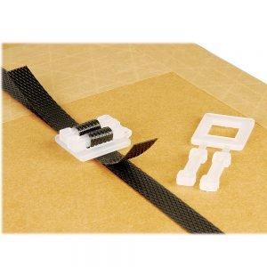 Safeguard Heavy Duty White Plastic Buckles