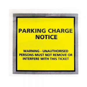 Tenzalopes Parking Charge Envelopes