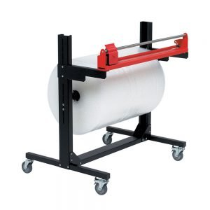 Pacplan Single 1500mm Mobile Roll Cutter Dispenser