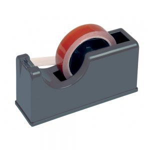 Kinetix 25mm/75mm Bench Tape Dispenser, Dark Grey