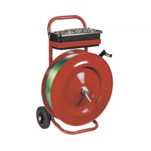 Safeguard 406mm Core Strap Dispenser Trolley