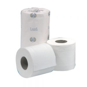 Luxury White Toilet Rolls