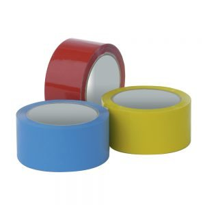 Pacplus Red 9mm Vinyl Packing Tape