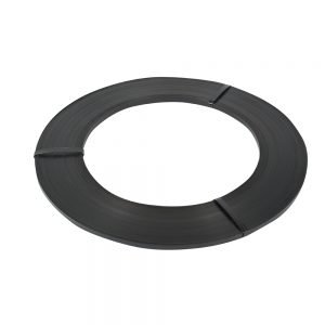 Safeguard Black 16mm Ribbon Wound Strap, 395mtr