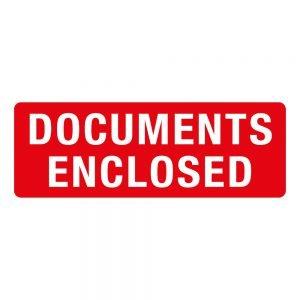 Transpal DOCUMENTS ENCLOSED Labels