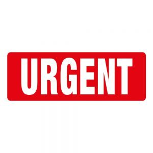 Transpal URGENT Labels