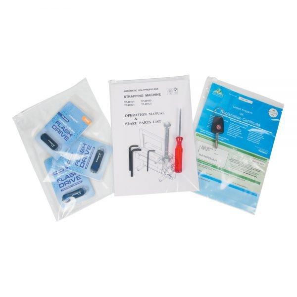 Tenzapac 320 x 230mm Slider Grip Bags, 75mu