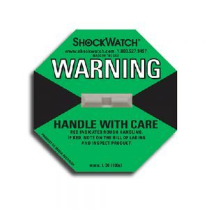 Tegralert Green 100G ShockWatch