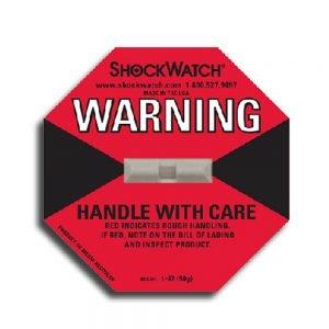 Tegralert Red 50G ShockWatch