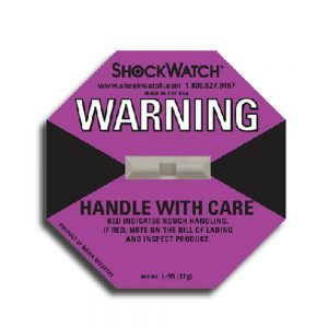 Tegralert Purple 38G ShockWatch