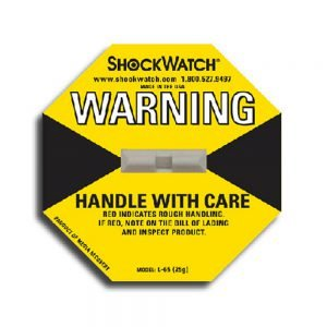 Tegralert Yellow 20G ShockWatch