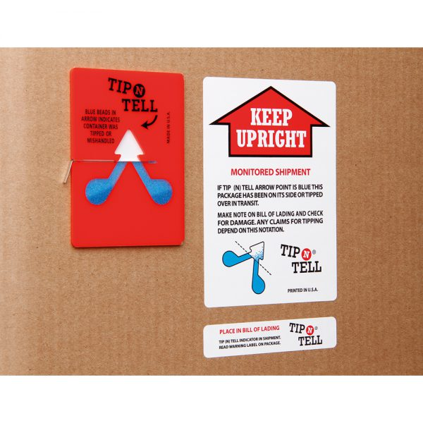 Tegralert Tip'n'Tell Monitor with Companion Label