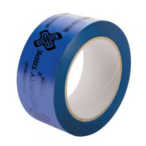 Tegracheck Blue OPEN VOID Security Tape