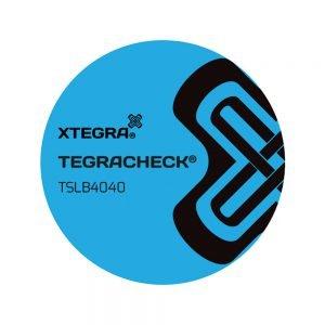 Tegracheck 40mm Round Non Transfer Labels