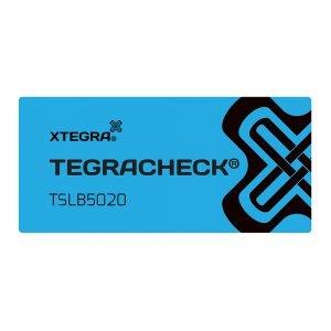Tegracheck 50 x 20mm Non Transfer Labels