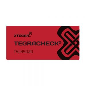Tegracheck 50 x 20mm Total Transfer Labels
