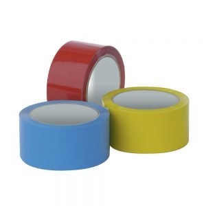 Pacplus Yellow 12mm Vinyl Packing Tape